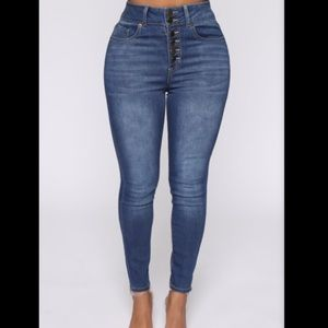 Medium Blue Wash Jeans